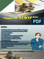 Chapter 18 - Economy