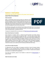 Ramadan UPF Video Lessons Final Jan 2015