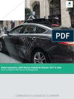 Global Automotive LiDAR Market Analysis 2017-2026