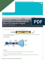 Advantage and Disadvantage of CRT,LED,LCD,Plasma Display - TricksWay.pdf