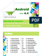 car radio android 4.4 manual