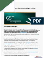 Gst Registration Service in Faridabad ncr call@  (+91)-9971627975