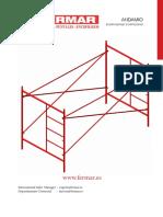 Catalogo Andamios FERMAR