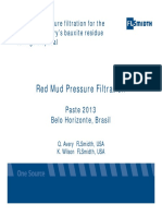 Quentin Avery K Wilson Red Mud Pressure Filtration for the Alumina Refinerys Bauxite Residue Tailings Disposal