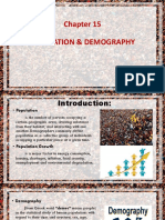 Chapter 15 - Population and Demography