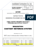 SA JER PI 801 GCCC 59 0035 Custody Metering System Rev.03