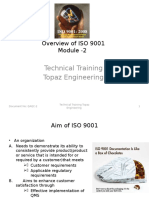 Module-2 Overview of ISO 9001