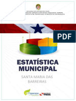 Estatistica Municipal em Santa Maria das Barreiras