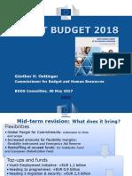 Draft Buget UE 2018