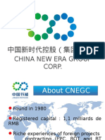 China New Era Project Profile