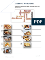 British Food (Worksheets)