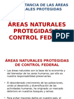 ÁreasNaturalesProtegidasdecontrolFederal