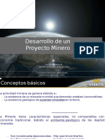 Desarrollo de Un Proyecto Minero