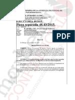 Auto de la Audiencia de Málaga que resuelve el recurso del Ayuntamiento contra Del Pozo