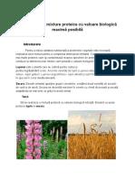 Stabilirea unei mixture proteice cu valoare biologică maximă posibilă.docx