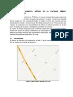 Diseño de Pavimento Barrio Rio