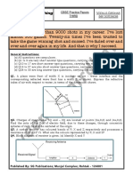 Practice Paper 3rd
