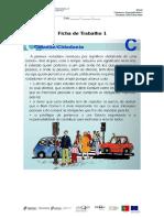 Cidadania Ficha de Trabalho 1 e 2
