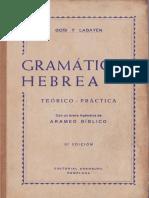 Goñi Blas Y Labayen Juan - Gramatica Hebrea.pdf