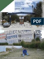 Analisis de Curvas Horizontal y Vertical (Topografía-II)