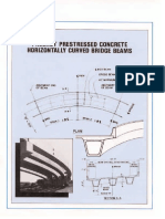 PCI - Precast Prestressed Concrete Horizontally Curved Bridge