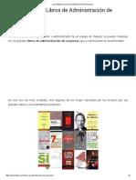 Los 33 Mejores Libros de Administración de Empresas.pdf