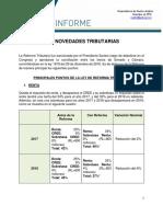 ANDI. Reforma Tributaria 2016