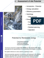 Hydrology Resource Potential 2014