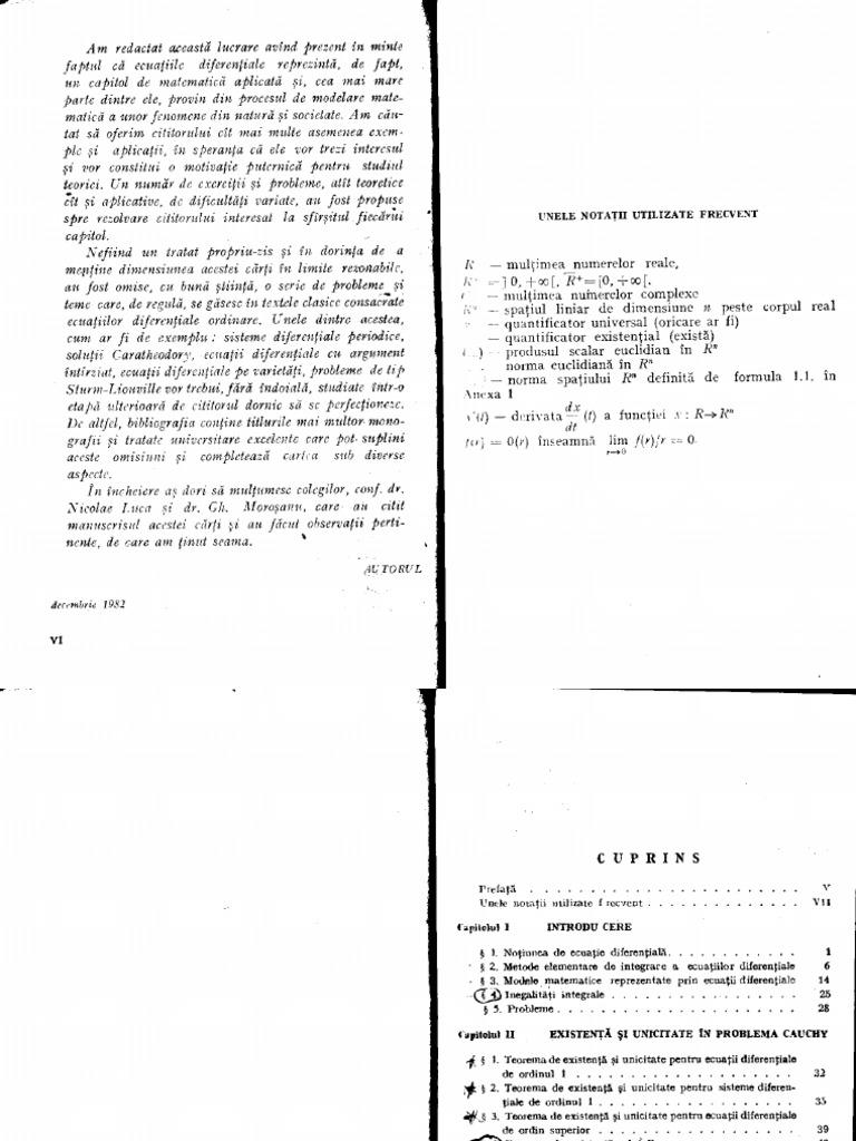 Barbu Ecuatii Diferentiale Lg Ac 1 Pk 9 Nla