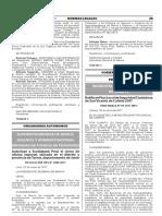 Ratifican Plan Local de Seguridad Ciudadana de San Vicente de Cañete 2017