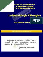 1 METODOLOGIA CHIRURGICA