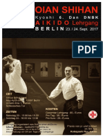 09/2017 Aikido Seminar Berlin (Deutsch Version)