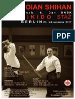 09/2017 Aikido Seminar Berlin (wersja polska)