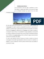 Energia Electrica y Espacio Vectorial