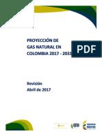 Proyeccion Demanda Gas Natural Abril2017