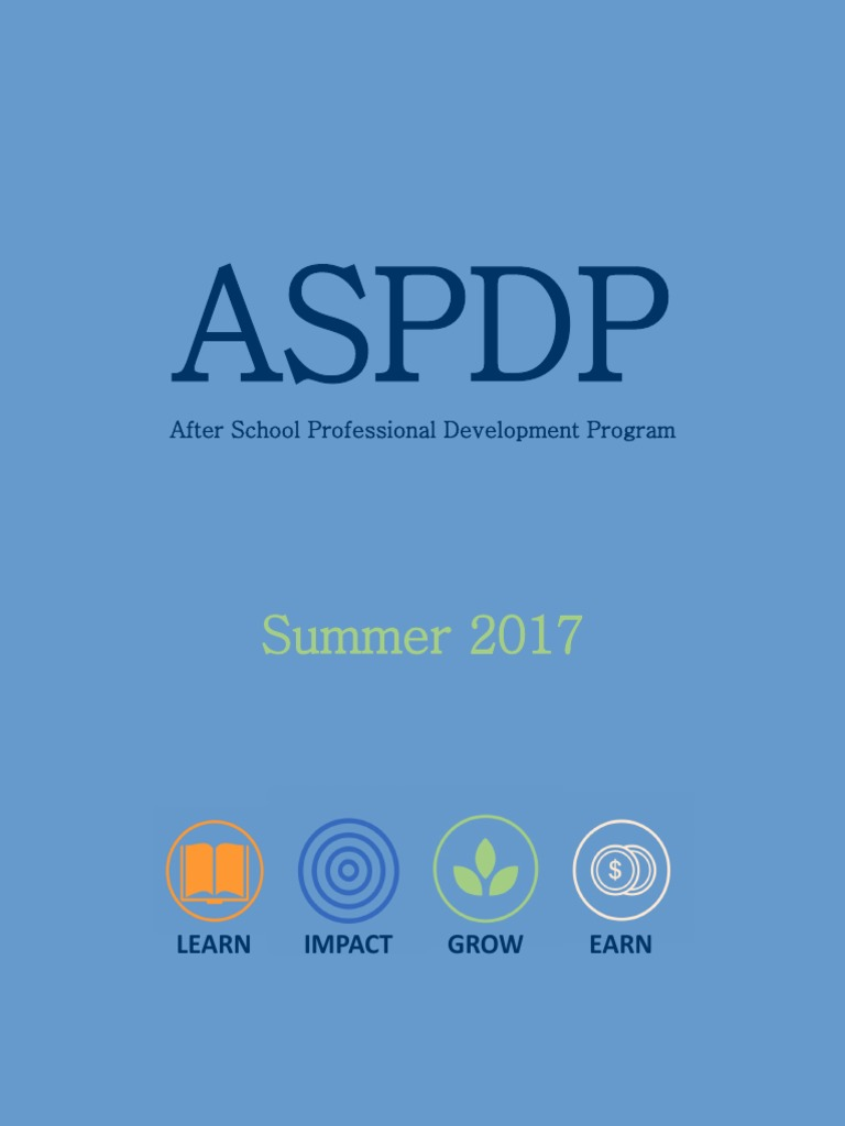 ASPDP Summer 2017 Course Catalog   Special Education   Project Based ...