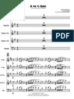 Ve Por Tu Sueño - Brass Section
