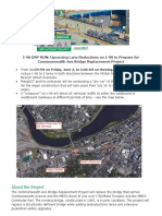 Commonwealth Avenue Bridge Replacement Project - Dry Run
