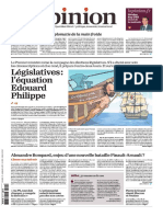 L'Opinion Du Lundi 29 Mai 2017