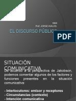 El Discurso Pc3bablico