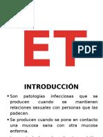 1 - E.T.S.  DIAPOSITIVA