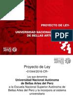 Cronología, importancia y beneficios de convertirnos en la Universidad Nacional Autónoma de Bellas Artes Del Perú