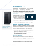 PowerEdge T30 Spec Sheet ES-XL HR