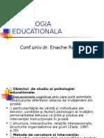 Psihologie Educationala Suport de Curs