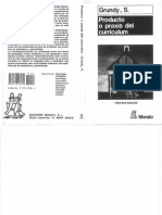 Grundy, Shirley - Producto o Praxis Del Currículum - 140 Pag