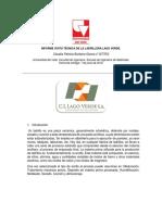 Informe Visita Técnica de La Ladrillera Lago Verde