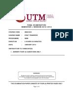 Final Exam Questions - SME4463 Sem 2013-14 1