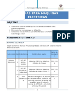 Normas Para Maquinas Electricas