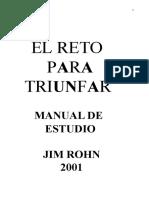 Jim Rohn - El Reto Para Triunfar Manual de Estudio.doc