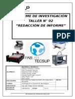 Informe de Innovacion Grupo 09
